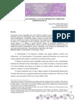Artigo - CRIMINALIDADE FEMININA A LUZ DAS DIFERENTES CORRENTES