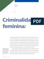 Artigo - Criminalidade Feminina