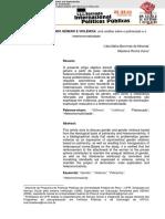 Artigo - discutindogeneroeviolenciaumaanalisesobreopatriarcadoeaheteronormatividade
