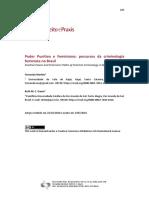 Artigo - MARTINS, Fernanda Poder Punitivo e Feminismo  percursos da criminologia feminista no Brasil