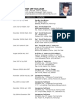 Updated Resume 2010
