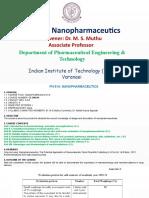Nanopharmaceutics I.pptx