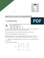 matrices determiants problems
