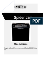 +TRADUCCION SPIDER ADVANCED GUIDE (Rev B) - Spanish.docx