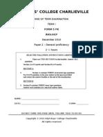 F5 T1 Biology P2 2010-2011