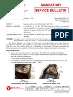 SB 639 Rocker Arm Inspection