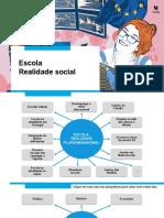 Escola – realidade social