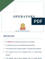 4 Operators