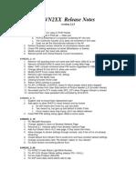 AVN2XX Firmware Release Notes