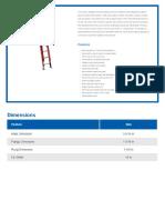 Werner 28ft Fiberglass Ladder