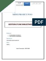 Mini Projet(Saiddine -Boufenzi)