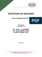 Documento Base Inventário - Modelo Flexmaster