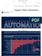 The Future of Supply Chain Automation