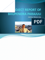 PROJECT REPORT OF BHUPENDRA PARAJULI WIRELESS COMMUNICATION.pptx