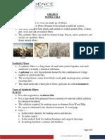 Notes (Synthetic Fibres and Plastics).pdf.pdf