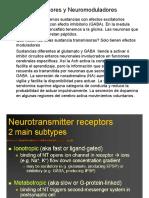 Neurotranmisor y neuro moduladores