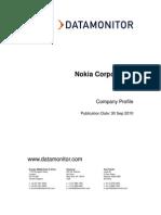 Nokia Corporation profile