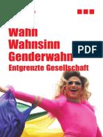 Wahn-Wahnsinn-Genderwahn