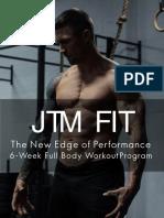 JTMFIT - The New Edge of Performance 1.0