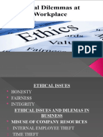 Ethics Lesson 5