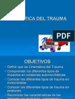 CINEMATICA DEL TRAUMA (instruccion 2007)