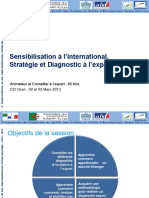 Module 01 Presentation sur la Sensibilisation, le Diagonostic et la Strategie Export