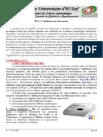 TP nø1 - Initiation au laboratoire avec p