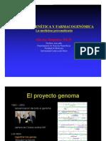 Clase PB III Farmacogenética