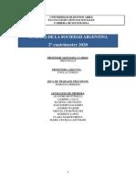 Analisis de la sociedad argentina 2c 2020