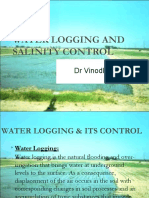 water logging -salinity