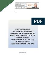 PROTOCOLO DE BIOSEGURIDAD PARA CONTROLAR Y REALIZAR ADECUADO MANEJO POR LA PANDEMIA DE CORONAVIRUS DYL SAS.docx