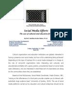 [7] Social Media Efforts