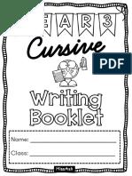 Y3 Cursive Writing Booklet