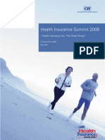 Health Insurance Summit 2008