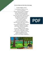 Comentario de la fábula de Félix María Samaniego
