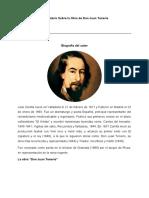 Comentario Sobre la Obra de Don Juan Tenorio