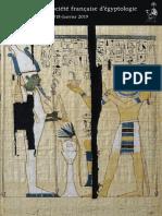 Lenzo, BSFE 200 (2018-2019), Les papyrus funéraires du clergé thébain à la XXIIe dynastie. Continuités et ruptures dans les textes de l'au-delà.pdf