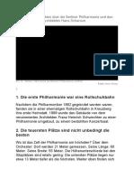 Ungewöhnliche Fakten über die Berliner Philharmonie und das Konzerthaus des Architekten Hans Scharoun