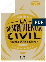 La desovedencia civil