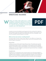 Wrestling Injuries