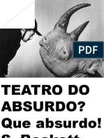 ARRUDA, R. K. TEATRO DO ABSURDO Power Point