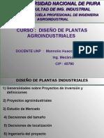 Diseño Proyectos de Plantas Agroindustriales