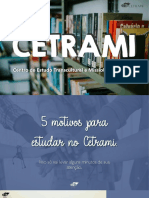 5 motivos para estudar no CETRAMI