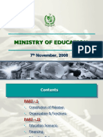 ministryofeducationmirhazarkhanedumin07-11-08final-090504045255-phpapp02