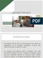 SignesVitaux