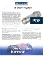 Die Casting Shot Sleeve System