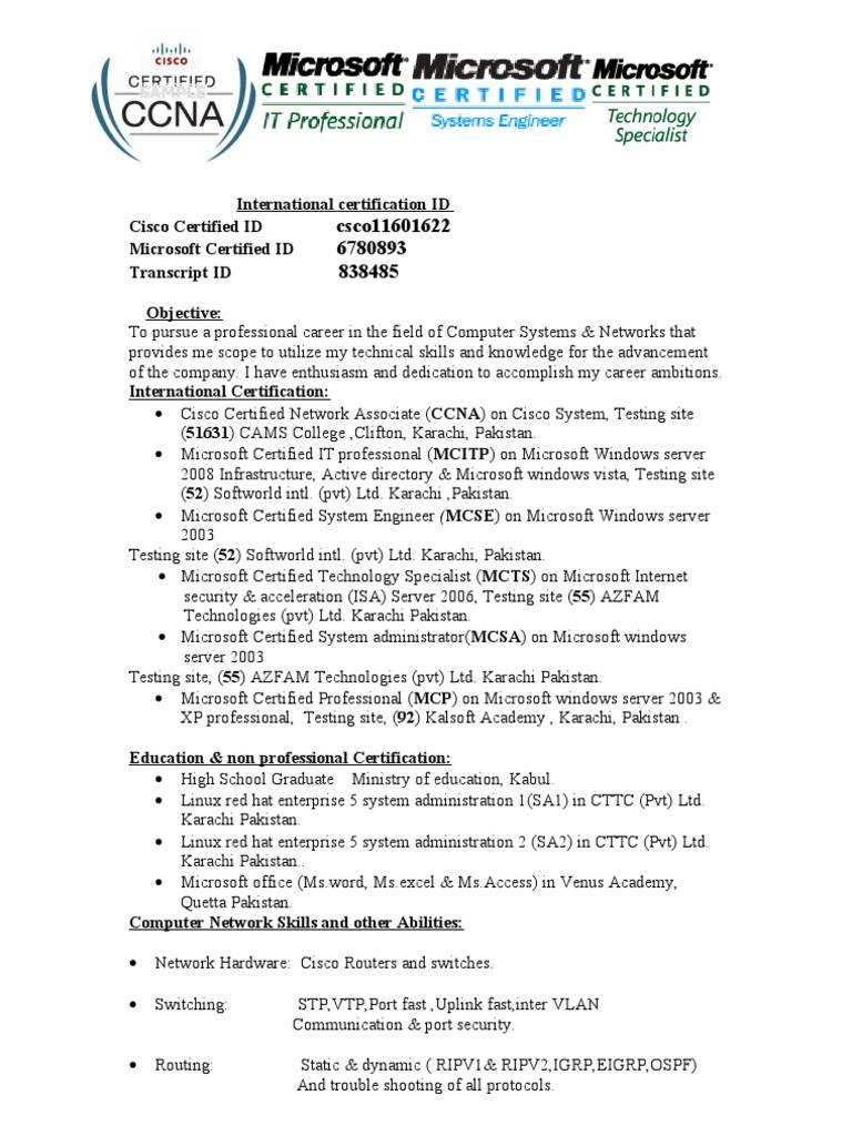 Sarwar Sarwar System Administrator Active Directory