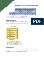 TECLADO Y SUS FUNCIONES