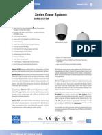 Pelco Spectra III SE Series Camera System Specs