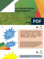 Presentación Nuevo Catalogo Clasificación Presupuestal